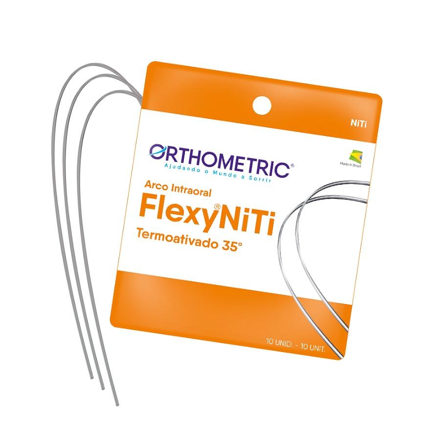 Arco Flexy NiTi Thermal 35° ALX Quadrado